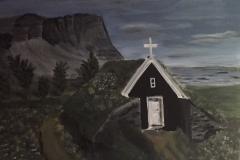 12 Nupstaður kirkja Island